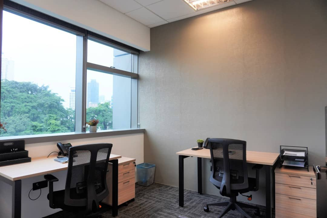 office space with nice view